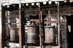 Gebetsmühle in der Annapurna Region