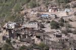 Häuser in Upper Pisang