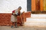 Alter bhutanesischer Mann