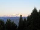 Antudanda Sonnenaufgang mit Kanchenjunga Gebirge