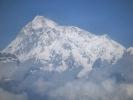 Blick auf das Makalu Gebirge