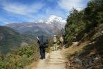 Annapurna Basecamp - way to Chhomrong