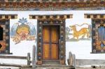Typisches Bauernhaus in Bhutan