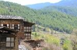 Landschaft in Bumthang Zentralbhutan