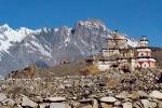 Upper Dolpo - Chorten and Himal