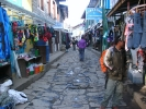 Streets in Namche Bazzar