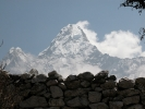 Ama Dablam view from Pangboche