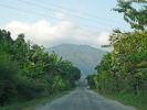 Way from the airport to Fikkal Bazzar