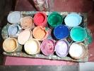 Mithila Kunst - Farben