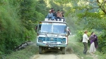 Bus on the way