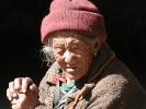 Nepali old woman