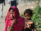 Nepali Woman with child