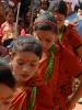 Dancing Neplai children
