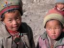 Nepali Tamang children
