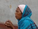 Smoking Nepali woman