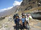 Climbing team in Langtang