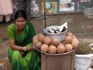 Kokosnussverkäuferin