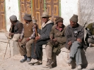 Old men in Lo Manthang